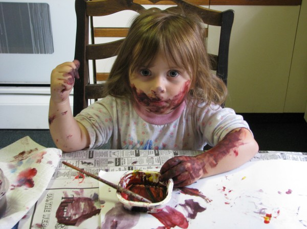 Messy and fun go together!